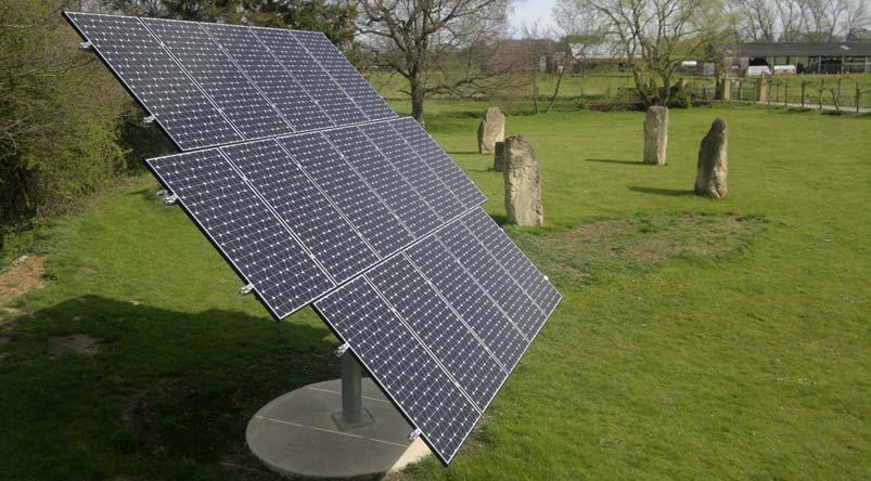 Tracking Solar Panels